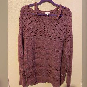 Knit sweater 💜